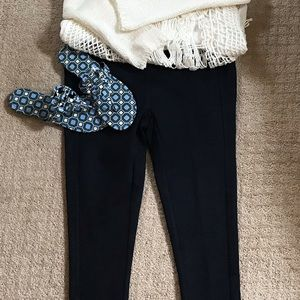 Loft stretch denim leggings
